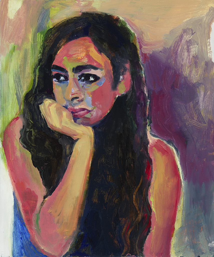 Nisha oil on canvas 56x71cm 2013